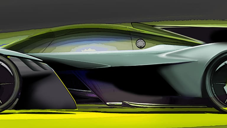 Aston Martin previews the AMR Pro version of its Valkyrie Hypercar