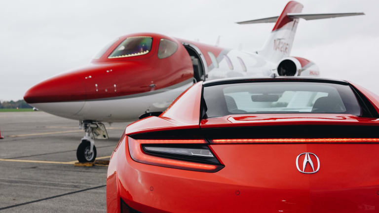 Honda's Crown Jewels: A look at the HondaJet and the Acura NSX