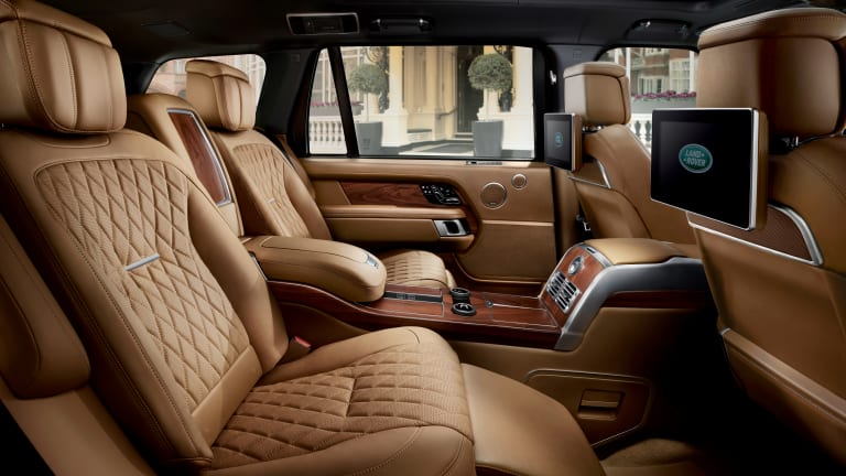 Land Rover's top-of-the-line Range Rover SVAutobiography gets a big interior overhaul