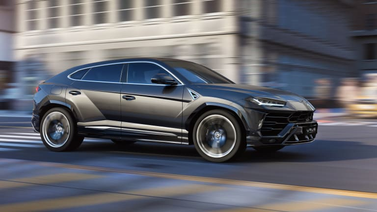 "Lamborghini's Urus is being called the world's first ""Super Sport Utility Vehicle"""