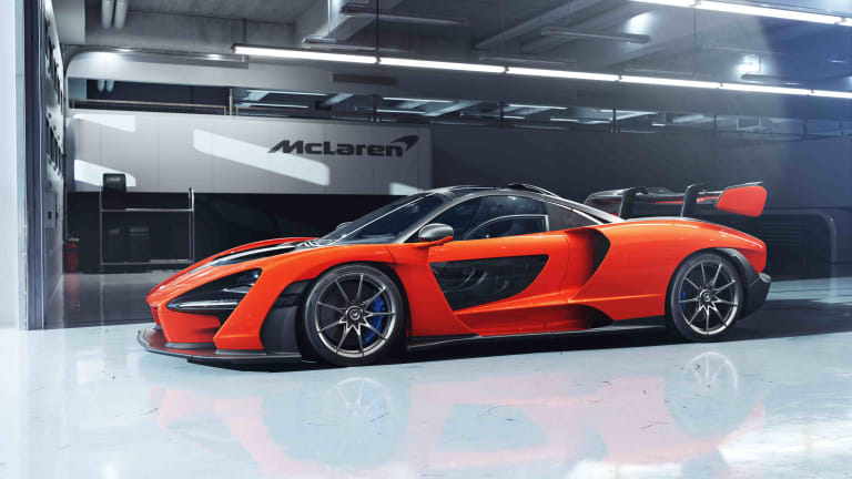 McLaren debuts its street-legal track car, the Senna