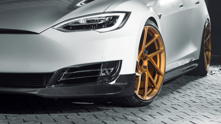 Novitec releases a performance kit for the Tesla Model S