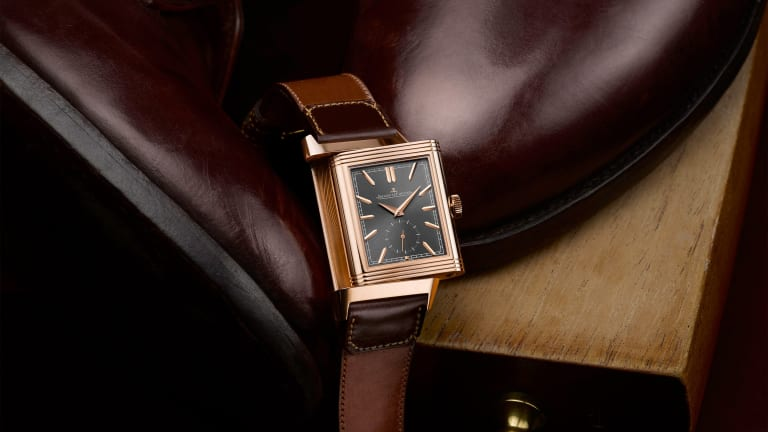 Jaeger-LeCoultre's ongoing partnership with Casa Fagliano continues with a new Reverso Tribute Duoface