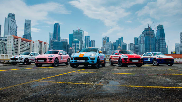 Porsche is recalling its most famous motorsport liveries with a special series of Macans