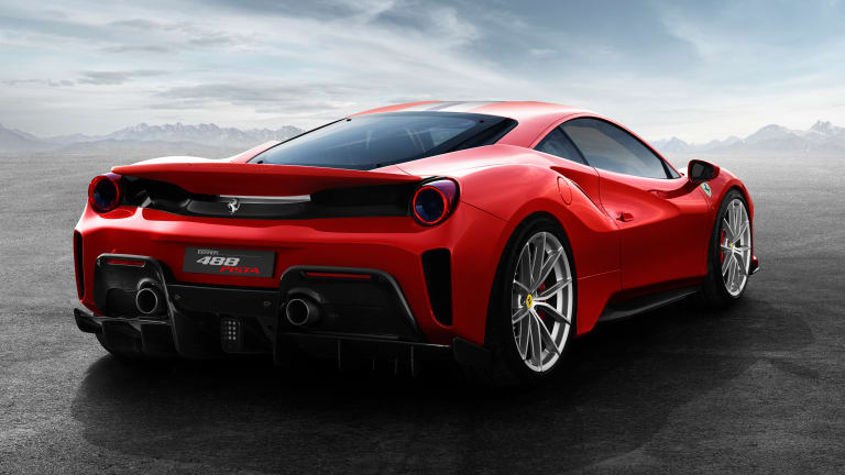 Ferrari announces the 711-hp 488 Pista