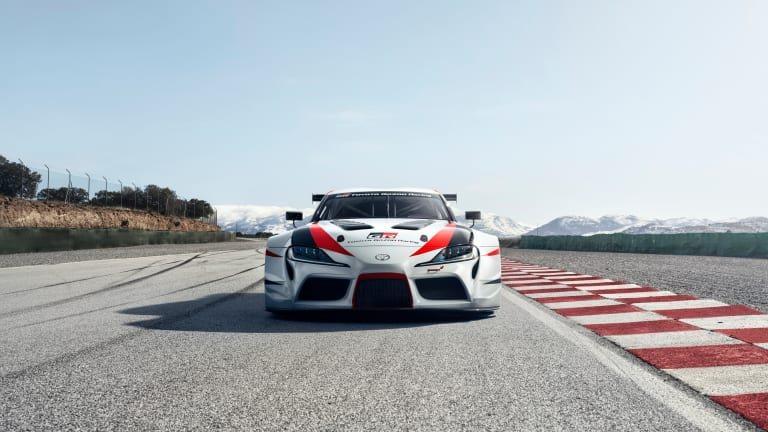 Toyota previews the return of the Supra in a new racing concept