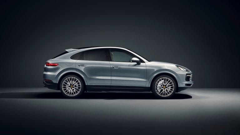 Porsche reveals the Cayenne S Coupe