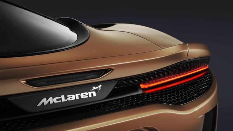 McLaren reveals their first-ever Grand Tourer