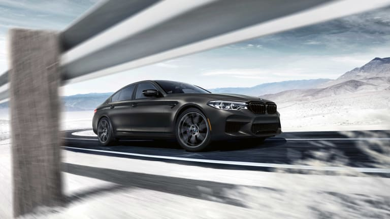 BMW celebrates 35 years of the M5