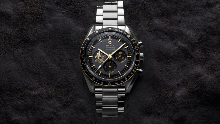Omega marks 50 years of the Apollo 11 moon landing
