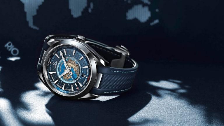 Omega turns the Seamaster into an elegant Worldtimer