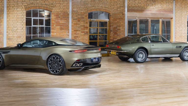 Aston Martin creates a special edition DBS Superleggera to celebrate 50 years of On Her Majesty's Secret Service