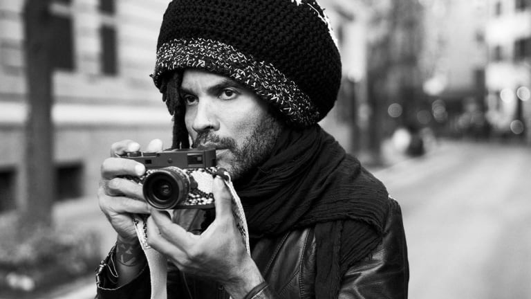 "Leica and Lenny Kravitz team up once again with the M Monochrom ""Drifter"""
