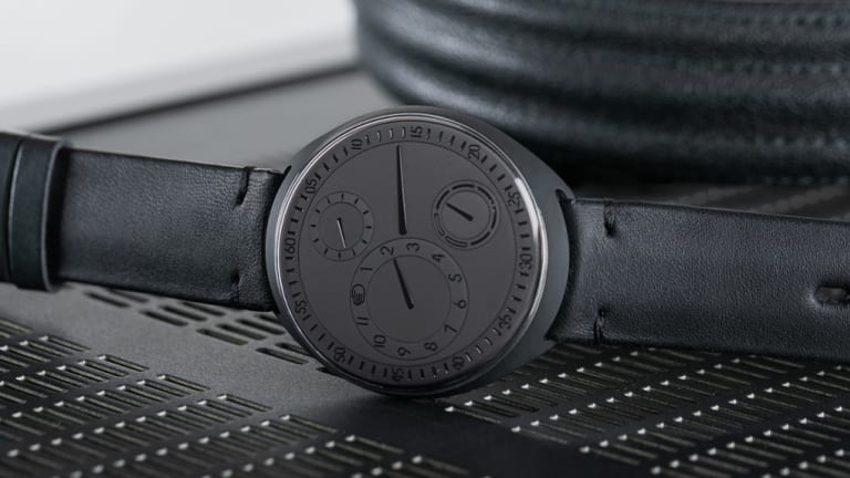Ressence releases their blacked-out Type 1 ZZ