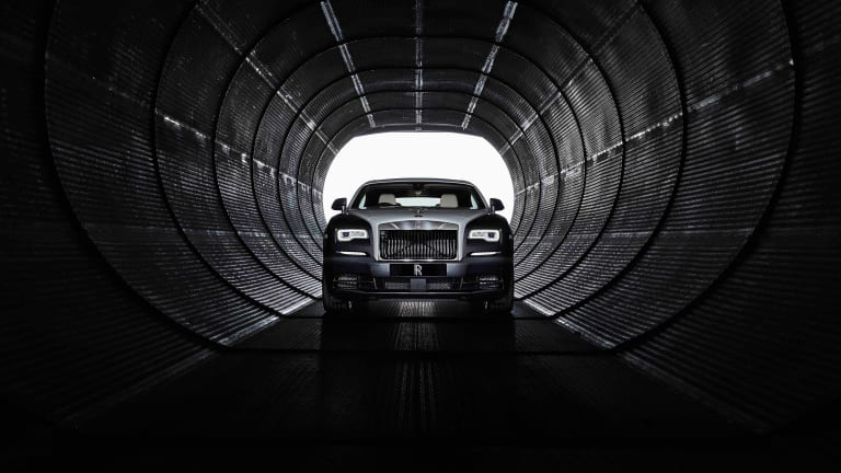 Rolls-Royce's Wraith Eagle VIII celebrates the early days of transatlantic flight