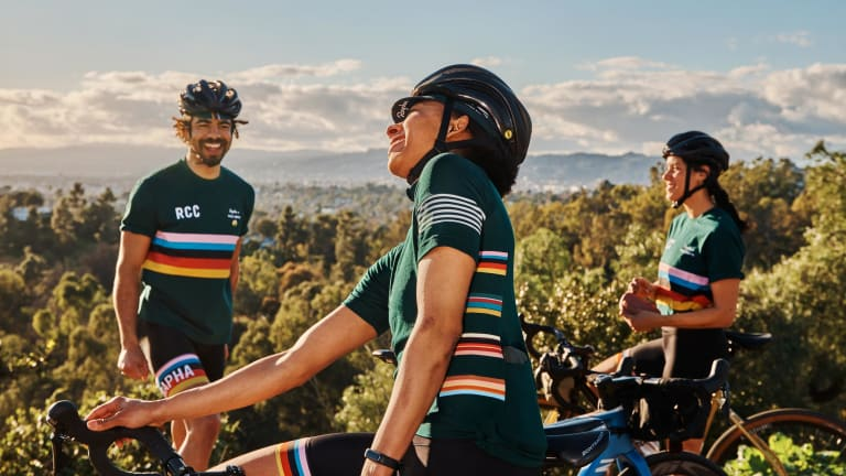 Paul Smith launches an exclusive collection for Rapha Cycling Club members
