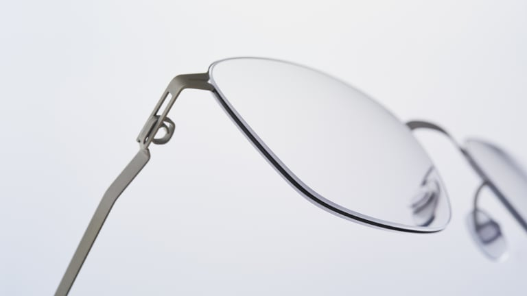 Mykita's new frames feature wire-thin frame rims