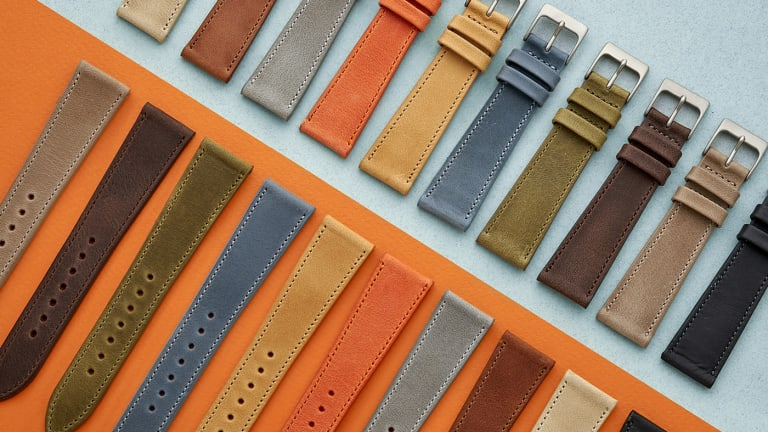 Hodinkee brings the rich hues of the Southwest to its Sedona watch strap collection