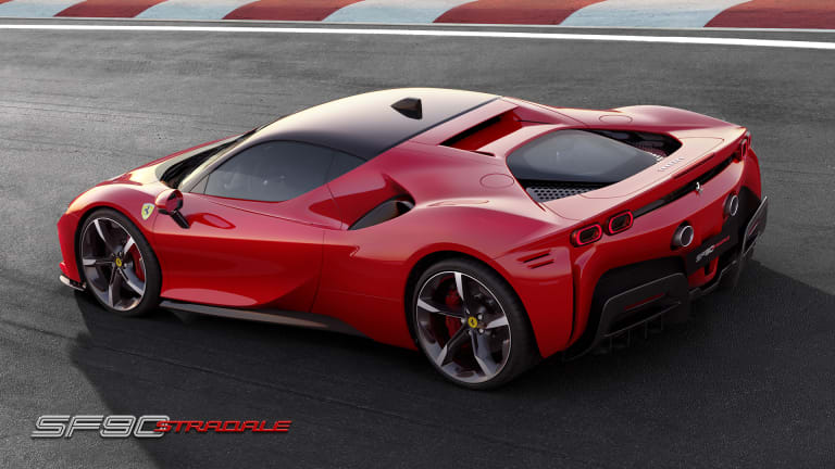 Ferrari reveals their fastest road car ever, the SF90 Stradale