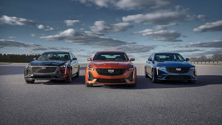 Cadillac adds the 2020 CT4 and CT5 to its V-Series lineup