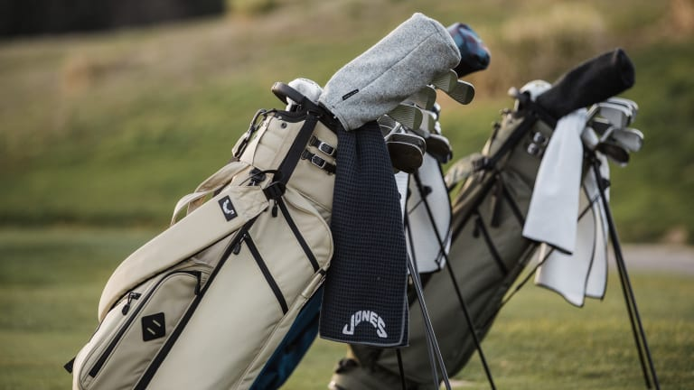 Jones' Utility Trouper gives the golf bag a minimalist makeover