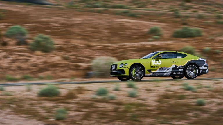 Bentley set the Pike's Peak record for production SUVs and now it wants a shot at the production car title