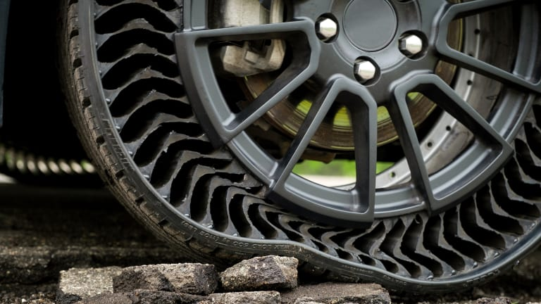 Michelin's Uptis wants to take the air out of your tires
