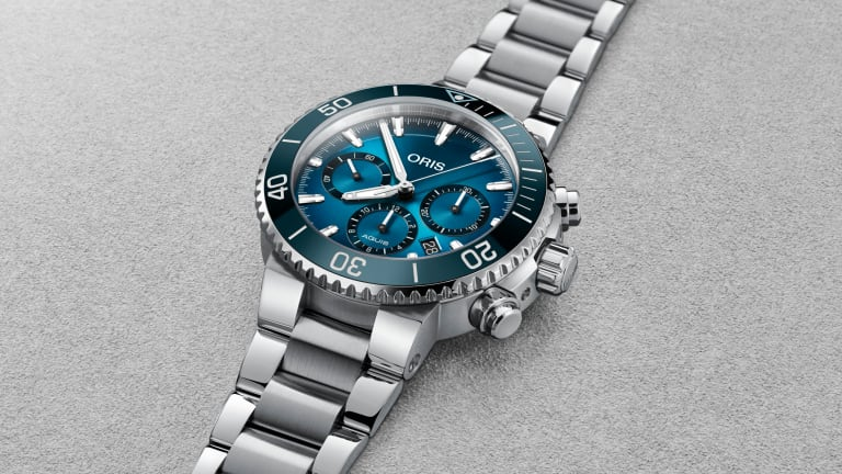 Oris introduces the limited edition Ocean Trilogy set