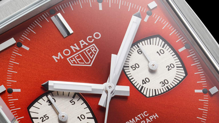 Tag Heuer brings back the 80s with its latest 50th anniversary Monaco