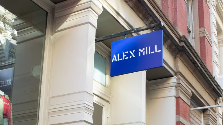 Alex Mill opens its first retail space