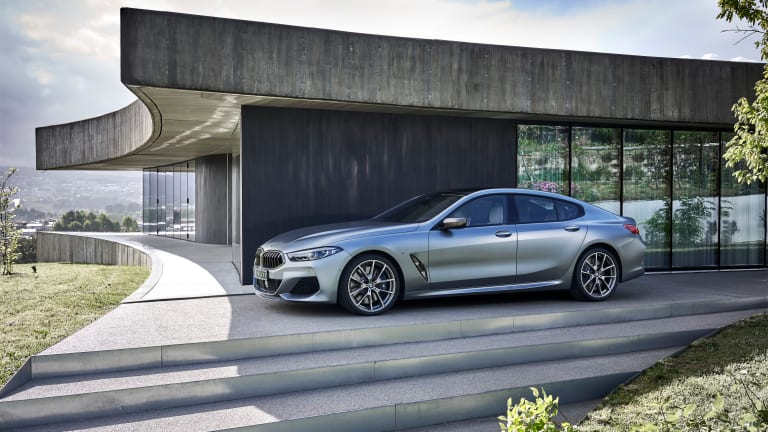 BMW reveals the 8 Series Gran Coupe