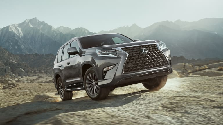 Lexus gives the GX's off-road capabilities a big boost with its 2020 refresh