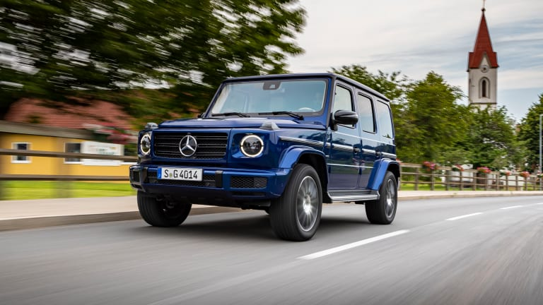 Mercedes celebrates 40 years of the G-Class with the Stronger than Time special edition