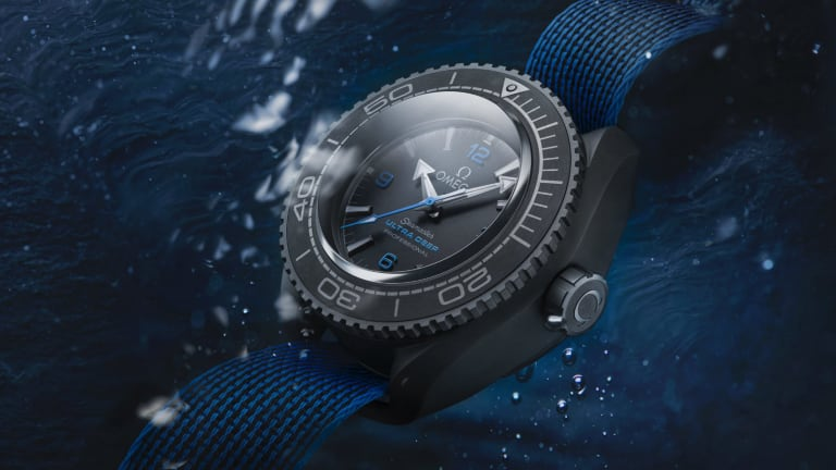 Omega's newest Seamaster was built to explore the depths of the Mariana Trench