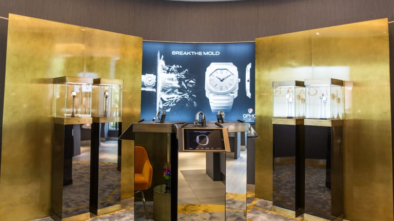 Bulgari opens the first-ever Octo Lounge at LA's Westime Boutique