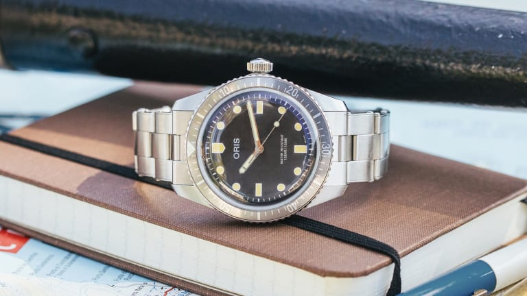 Hodinkee's collaboration with Oris is a stylish exercise in subtlety