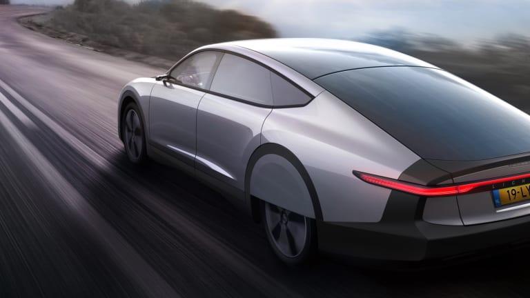 Lightyear debuts its long-range solar car