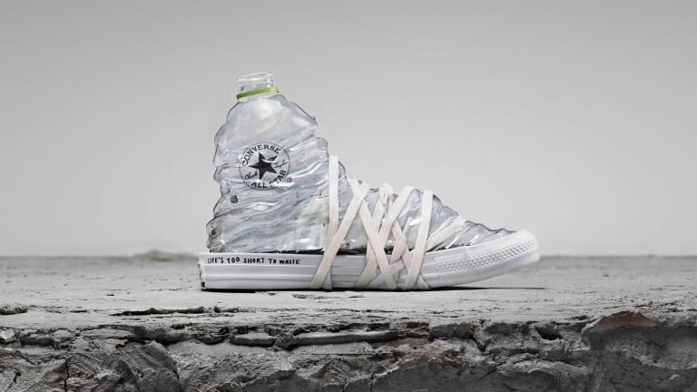Converse Renew rethinks the Chuck Taylor in upcycled materials