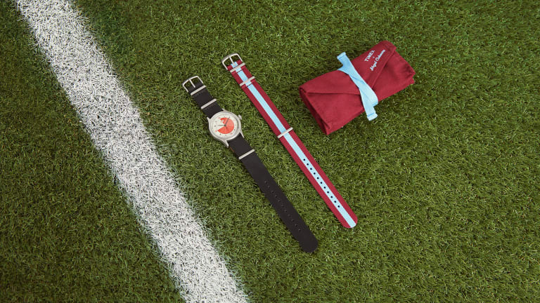 Nigel Cabourn and Timex's second collaboration celebrates the designer's love for soccer
