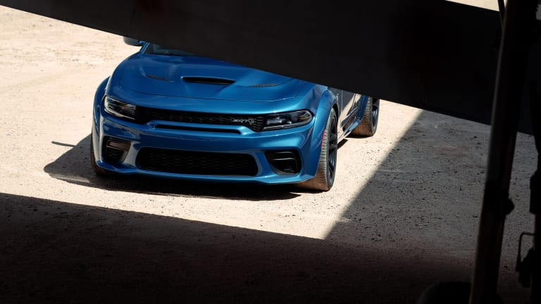 The 2020 Dodge Charger puts on some extra muscle with the new SRT Hellcat Widebody