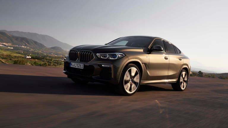 BMW reveals the 2020 X6