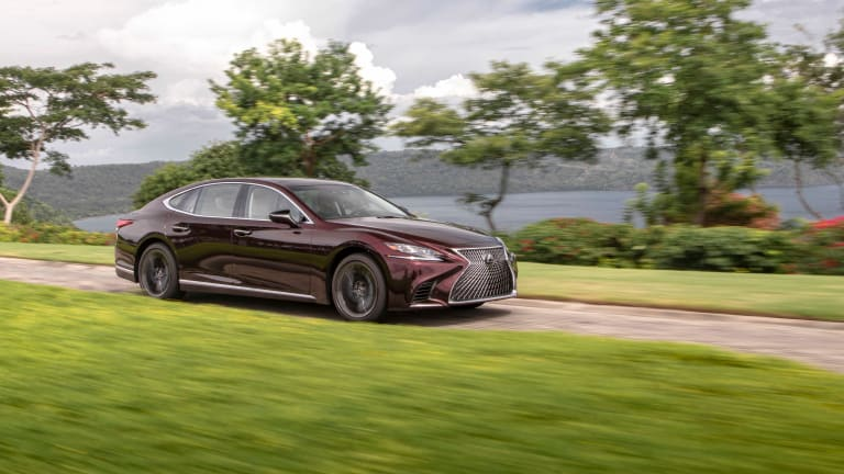 Lexus' flagship sedan gets a new Inspiration Series variant
