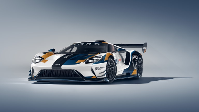 Ford unveils the track-only Ford GT Mk II