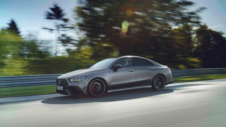 Mercedes AMG's CLA45 brings the most powerful four-cylinder turbo in its class