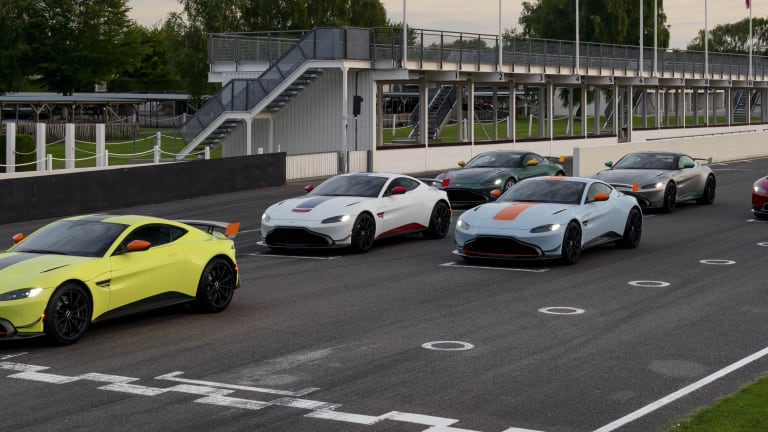 Q by Aston Martin's new limited editions celebrates 91 years of racing history