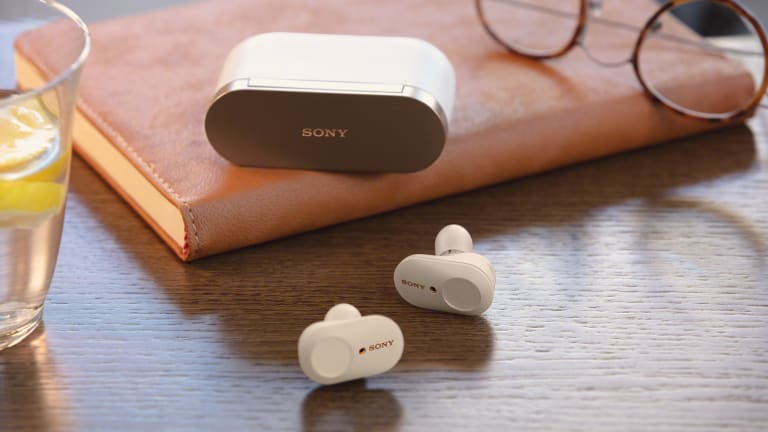Sony's shrinks its noise canceling tech into the new WF-1000XM3 wireless headphones