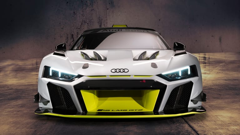 The Audi R8 LMS GT2 is now the most powerful car in their customer racing program