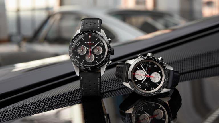 Montblanc's new TimeWalker celebrates Minerva's racing heritage