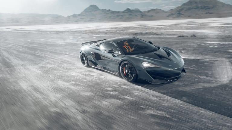 Novitec introduces its performance kit for the McLaren 600LT