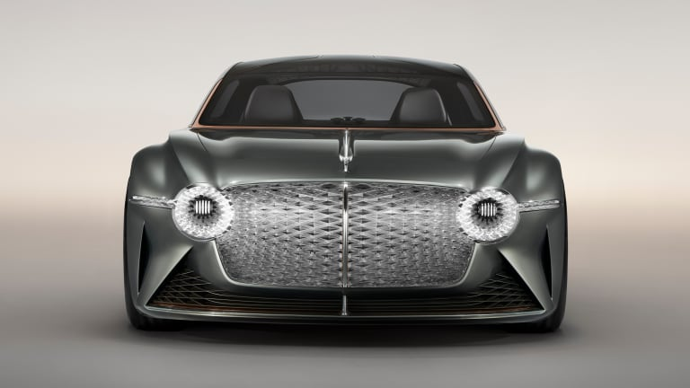 Bentley looks to the future with the jaw-dropping EXP 100 GT